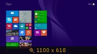Windows 8.1 Professional (32bit+64bit) by Matros v.01 (2013) Русский