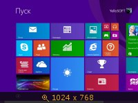 Windows 8.1 (x86/x64) PRO Standart Edition by YelloSOFT (2013) Русский