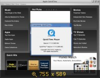 QuickTime 7.7.4.80.86 Pro RePack by D!akov (2013) Русский