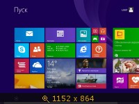 Windows 8.1 Pro (x64) by MoverSoft 01.2014 (2014) Русский