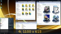 Windows 7 Professional х86-x64 SP1 IDimm Edition v.17.14 (2014) Русский