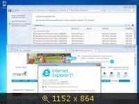 Windows 7 x86 SP1 5in1 Update (2014) Русский