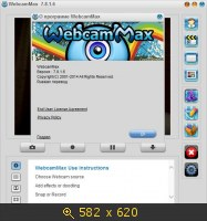 WebcamMax 7.8.1.6 RePack by KpoJIuK (2014) Русский