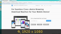 Maxthon Cloud Browser 4.2.2.800 Beta (2014) Русский