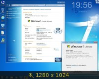 Windows 7 Ultimate x86-x64 nBook IE11 by OVGorskiy 2 DVD (2014) Русский