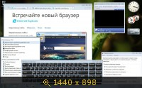 Windows 7 Ultimate х86-x64 SP1 6.1.7601.22556 RU SM-PIP 4x1 by Lopatkin (2014) Русский
