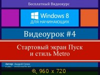 Основы работы в Windows 8 (2014) Русский