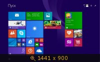 Windows 8.1 Pro x86-X64 VL 6.3.9600.17031.WINBLUE Full by Lopatkin (2014) Русский