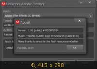 Universal Adobe Patcher 1.06 PainteR (2014) Английский