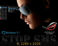 Windows 8.1 x86-x64 Professinal Aero 3D Exclusive by Qmax (2014) Русский